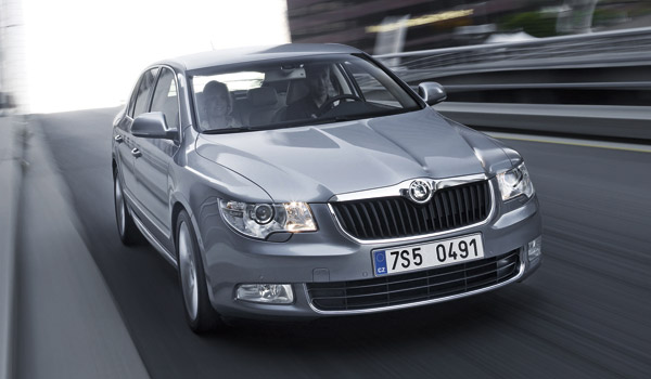 Skoda Superb Limited Edition.