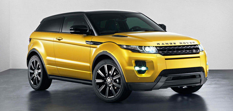 Ests viendo las imgenes del artculo: Range Rover Evoque Sicilian Yellow, una edicin limitada que se estrena en Bruselas