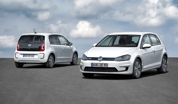 Volkswagen e-Golf y e-up!