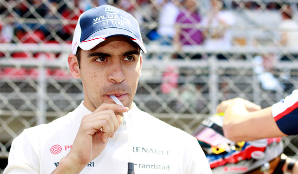 Maldonado, piloto de Williams.
