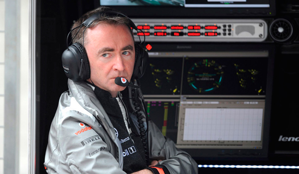 Paddy Lowe, nuevo ingeniero de Mercedes.