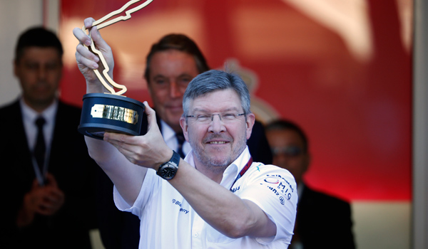 Ross Brawn, director deportivo de Mercedes.