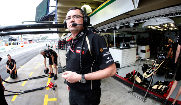 Boullier, responsable de Lotus.