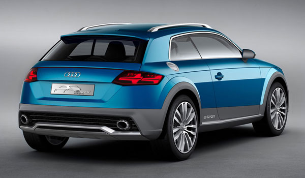 Audi Allroad shooting brake concept.