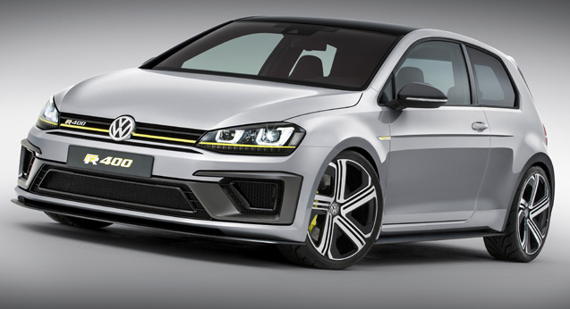 Volkswagen Golf R 400.
